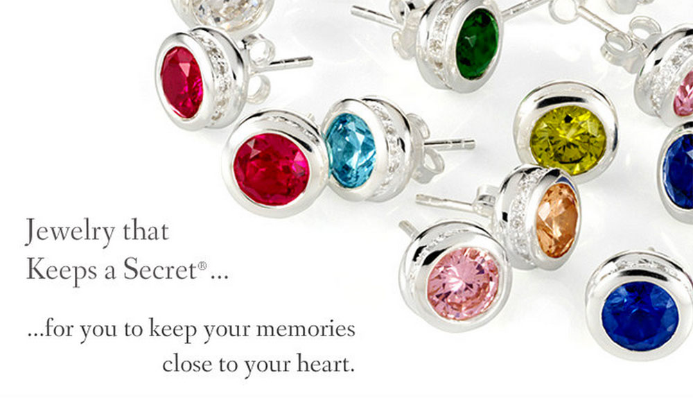 Treasured Memories® Birthstone Earrings Endcaps