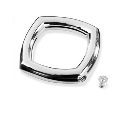 Cremation Pendant Sterling Silver Keepsake Necklace Cushion Style - TM Keepsake   Treasured Memories Cremation Jewelry