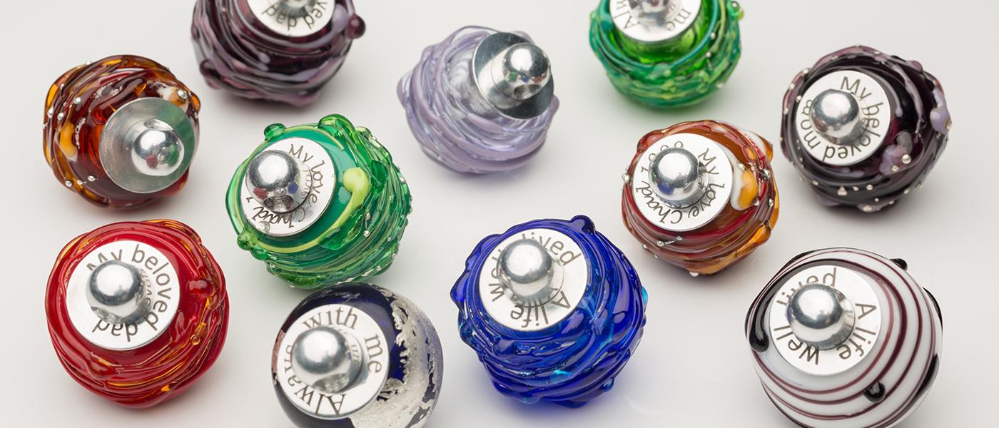 Venetian Glass Memorial Pendants - Keepsake Jewelry | Treasured Memories